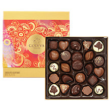 Buy Diwali Gold Box, 24 Chocolate Assortment, 165cm Online at johnlewis.com