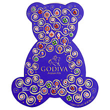 Buy Godiva Christmas Bear Assorted Chocolate Box, 45g Online at johnlewis.com