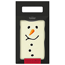 Buy Hotel Chocolat Snowman Blizzard Mini Slab, 200g Online at johnlewis.com