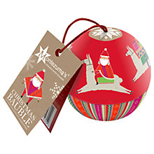 Buy Montezuma's Lima Llama Christmas Salted Caramel Truffles Bauble, 39g Online at johnlewis.com