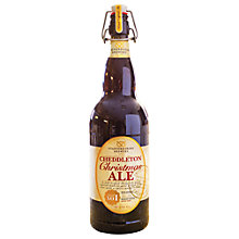 Buy Cheddleton Christmas Ale, 750ml Online at johnlewis.com