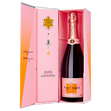Buy Veuve Cliquot Call Box Rose Champagne Online at johnlewis.com