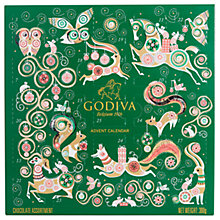 Buy Godiva Advent Calendar, 285g Online at johnlewis.com