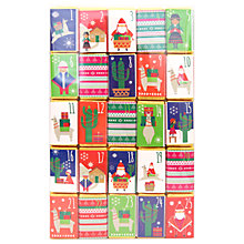 Buy House of Dorchester Lima Llama Advent Stick Pack, 250g Online at johnlewis.com