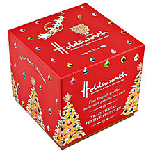 Buy Holdsworth Traditional Festive Truffle Cube, 100g Online at johnlewis.com
