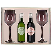 Buy Pair of Glasses and Wine Mini Duo, 2x 18.7cl Online at johnlewis.com