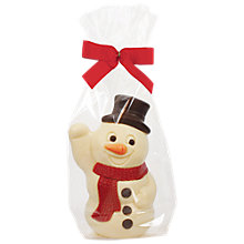 Buy Natalies Small White Chocolate Snowman Figure, 75g Online at johnlewis.com