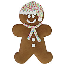 Buy Pertzborn Large Gingerbread Man, 180g Online at johnlewis.com