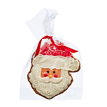 Buy Image on Food Iced Gingerbread Santa, 95g Online at johnlewis.com