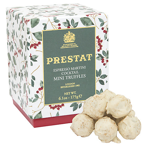 Buy Prestat Espresso Martini White Chocolate Truffles, 175g Online at johnlewis.com