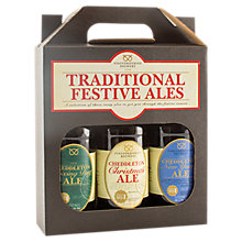 Buy Staffordshire Brewery Festive Ale Selection, 3x 500ml Online at johnlewis.com