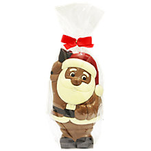 Buy Large Chocolate Santa, 225g Online at johnlewis.com