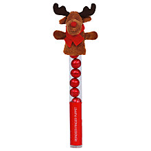Buy Reindeer Finger Puppet with Chocolate Balls, 50g Online at johnlewis.com