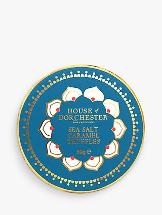 House of Dorchester Tales of the Maharaja Sea Salt Caramel Truffles, 50g