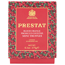 Buy Prestat Blood Orange Cocktail Dark Truffles, 175g Online at johnlewis.com