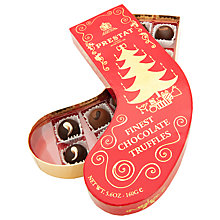 Buy Prestat Large Red Stocking Chocolate Truffles, 160g Online at johnlewis.com