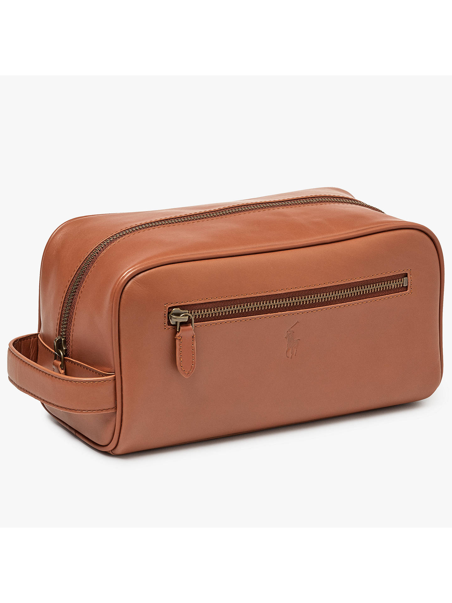 cad0c2a61b Buy Polo Ralph Lauren Leather Shave Kit Wash Bag
