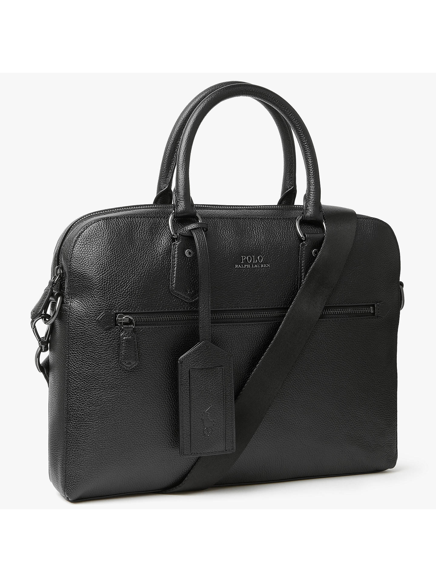 f078982f0605 BuyPolo Ralph Lauren Pebbled Leather Briefcase