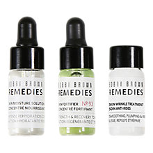 Buy Bobbi Brown Remedies Skin Wrinkle Rescue Kit Online at johnlewis.com