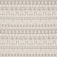 Buy John Louden Fair Isle Print Fabric Online at johnlewis.com