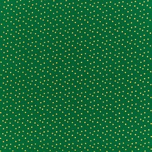 Buy Sew Simple Star Print Fabric, Gold/Green Online at johnlewis.com