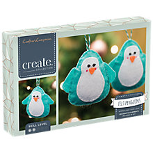 Buy Crafter's Companion Make Your Own Penguin Christmas Tree Decorations, Pack of 3 Online at johnlewis.com