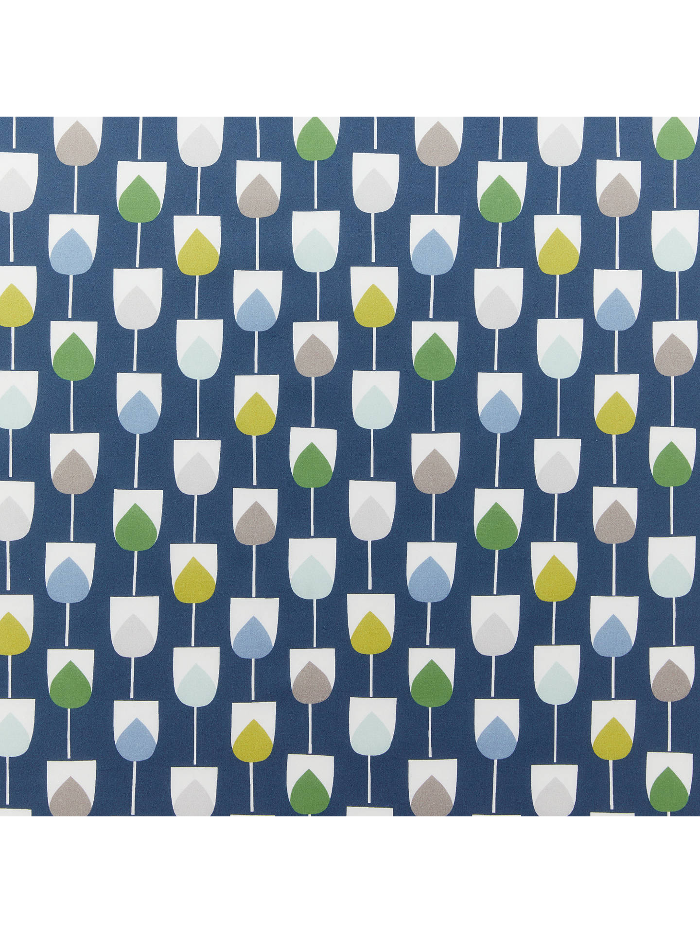 BuyScion Sula Print Fabric, Blue Online at johnlewis.com