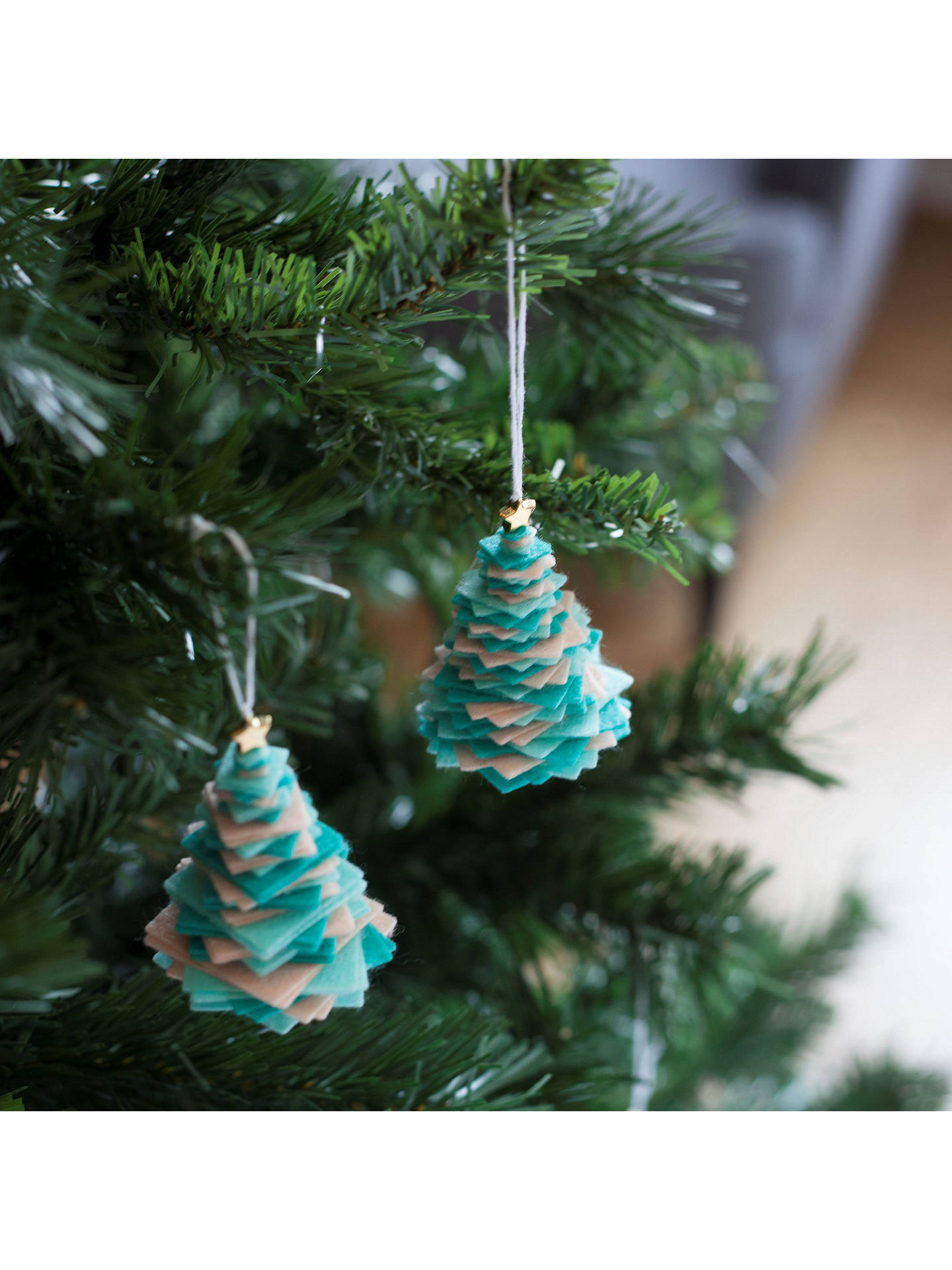 ... Buy Crafter's Companion Create Your Own Felt Christmas Tree Decorations, Pack of 3 Online at ...
