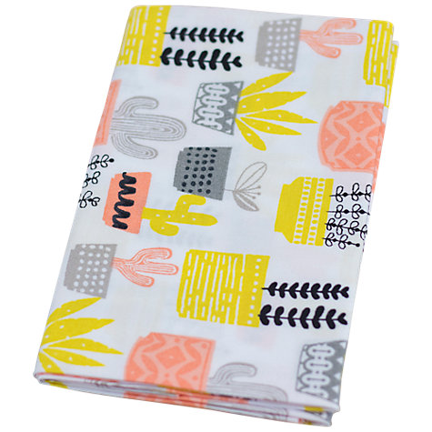 Buy Crafter's Companion Home Grown Cactus Print Fat Quarter Fabrics, Pack of 3, Pink/Multi Online at johnlewis.com