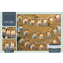 Buy Crafter's Companion Create Your Own Advent Calendar Kit Online at johnlewis.com