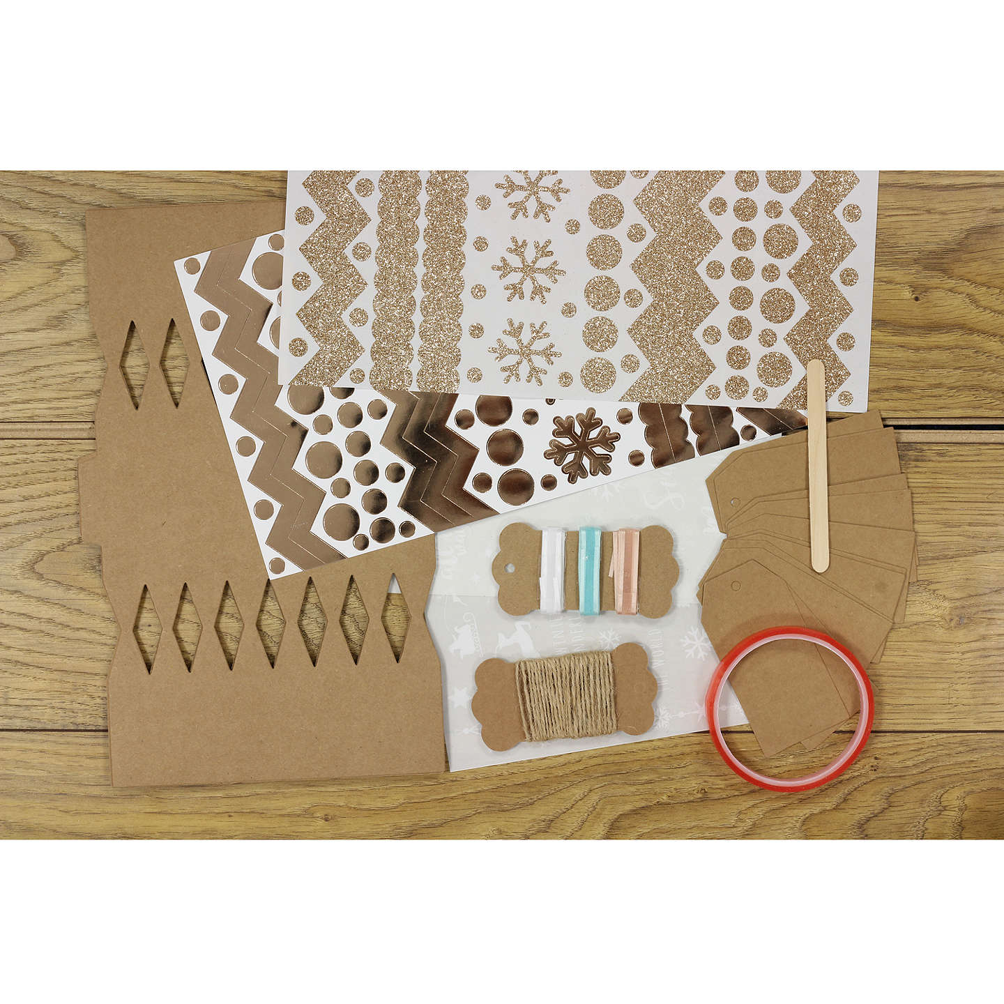 Crafters companion make your own crackers and tags kit at john lewis buycrafters companion make your own crackers and tags kit online at johnlewis solutioingenieria Gallery