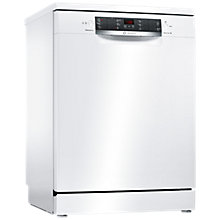 Buy Bosch SMS46IW00G Freestanding Dishwasher, White Online at johnlewis.com