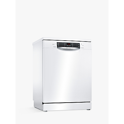 Bosch SMS46MW00G Freestanding Dishwasher, White