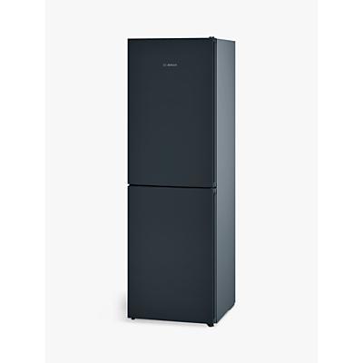 Bosch KGN34VB35G Freestanding Fridge Freezer, A++ Energy Rating, 65cm Wide, Black