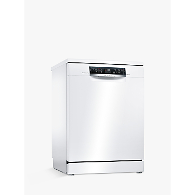 Bosch SMS67MW01G Freestanding Dishwasher, White