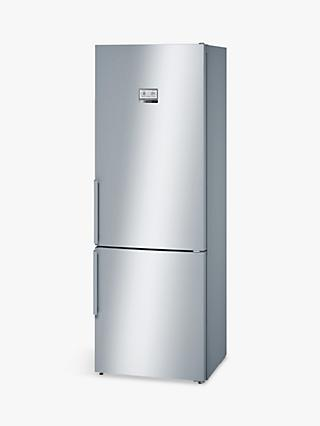 Bosch KGN49AI30G Freestanding Fridge Freezer, A++ Energy Rating, 70cm Wide, Silver