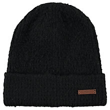 Buy Barts Claire Lennon Beanie, One Size, Black/Grey Online at johnlewis.com