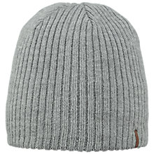 Buy Barts Wilbert Beanie, One Size, Grey Heather Online at johnlewis.com