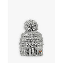 Buy Barts Jasmin Beanie, One Size, Grey Online at johnlewis.com