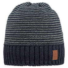 Buy Barts David Beanie, One Size, Navy Online at johnlewis.com