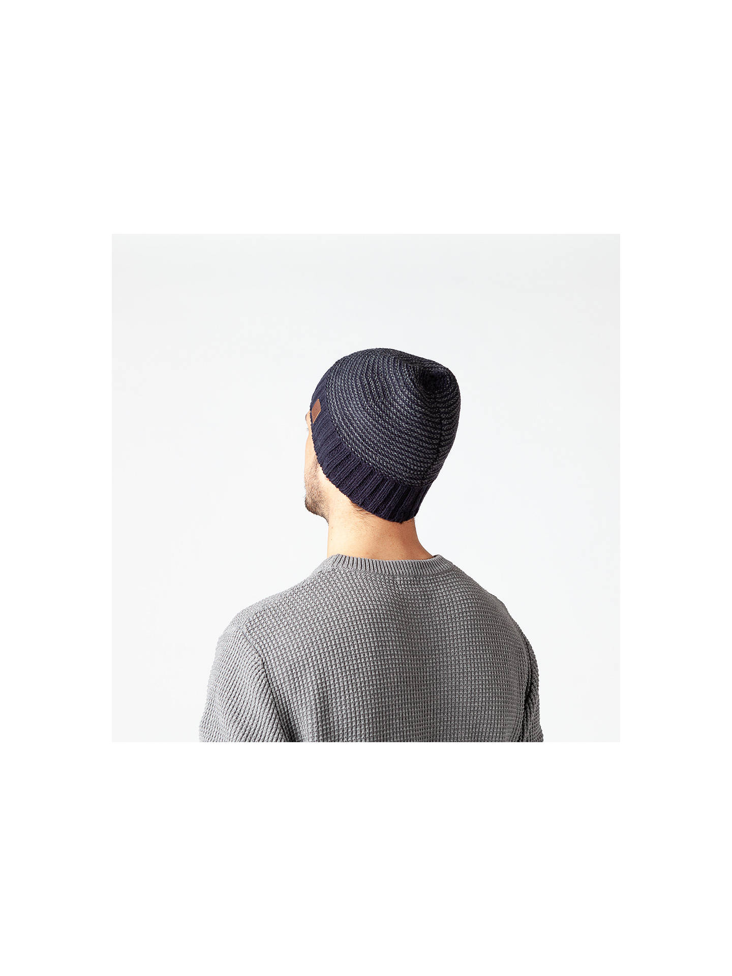 BuyBarts David Beanie, One Size, Navy Online at johnlewis.com