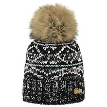 Buy Barts Eartha Beanie, One Size, Black Online at johnlewis.com