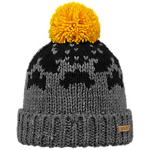 Buy Barts Baigh Beanie, One Size, Grey Heather Online at johnlewis.com
