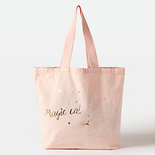 Buy Des Petits Hauts Nola Magic Cat Bag, Poudre Online at johnlewis.com