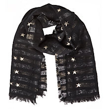 Buy Becksondergaard Brilling Scarf, Black Online at johnlewis.com