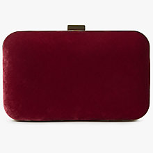 Buy John Lewis Ava Box Clutch Bag Online at johnlewis.com
