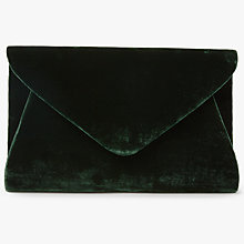 Buy John Lewis Fiona Faux Velvet Clutch Bag Online at johnlewis.com