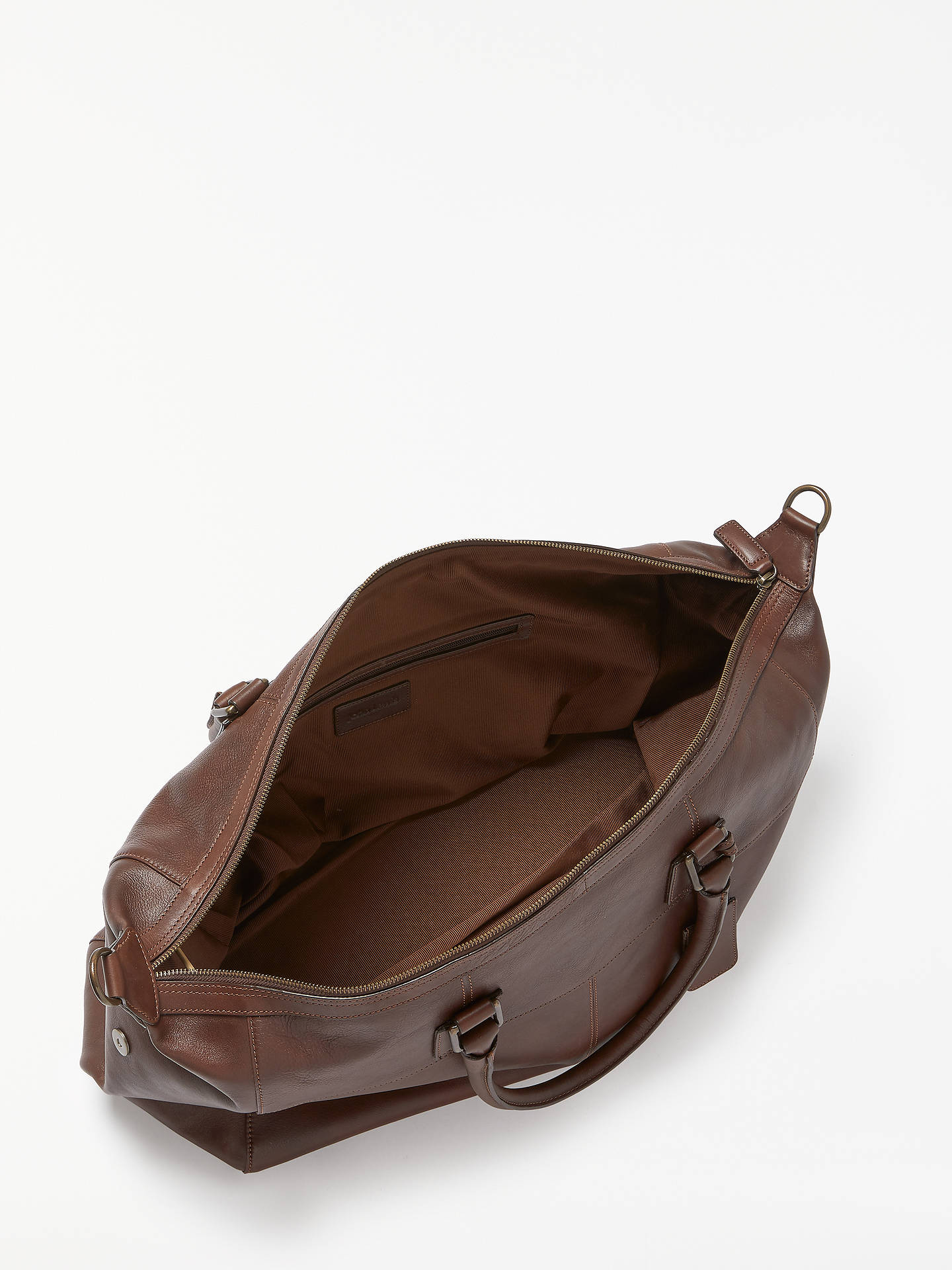 BuyJohn Lewis & Partners Gladstone 2.0 Leather Holdall, Brown Online at johnlewis.com