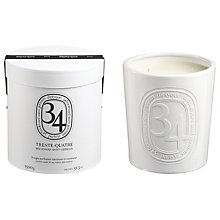 Buy Diptyque 34 Boulevard Saint Germain Large Indoor & Outdoor Scented Candle, 1500g Online at johnlewis.com