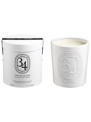 Diptyque 34 Boulevard Saint Germain Large Indoor & Outdoor Scented Candle, 1500g